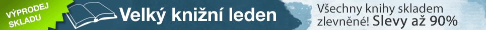Velký knižní leden - slevy minimálně 20%